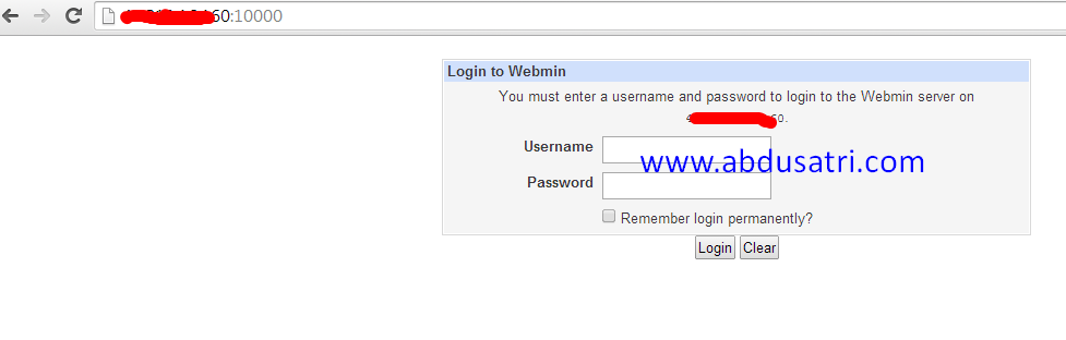 cara menambah user ssh dengan webmin di vps centos dan debian