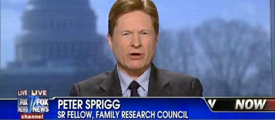 Peter Sprigg - Family Research Council