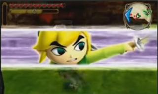 Gameplay de Tetra y Link en Hyrule Warriors Legends 1