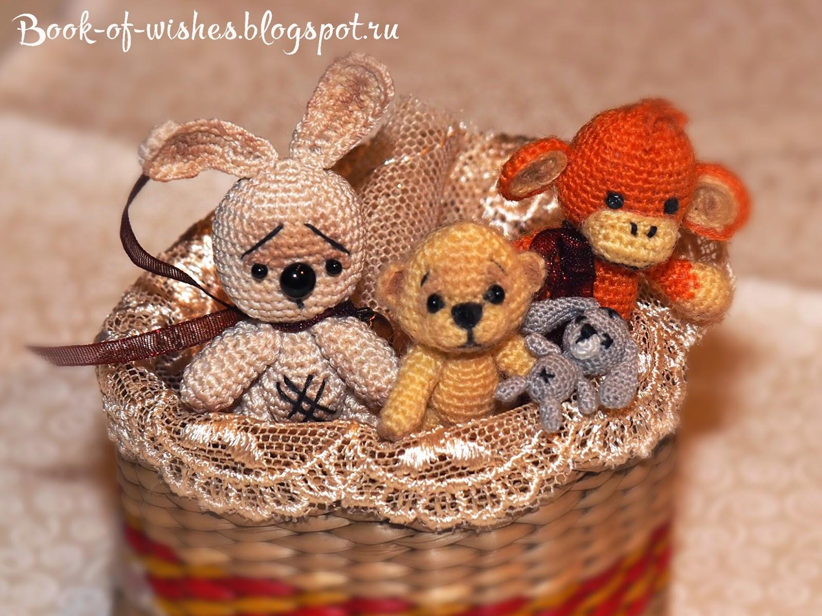mini crochet toys