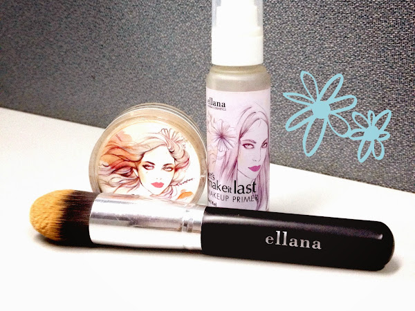 Review: Ellana Minerals Loose Mineral Powder Foundation in Cafe Mocha
