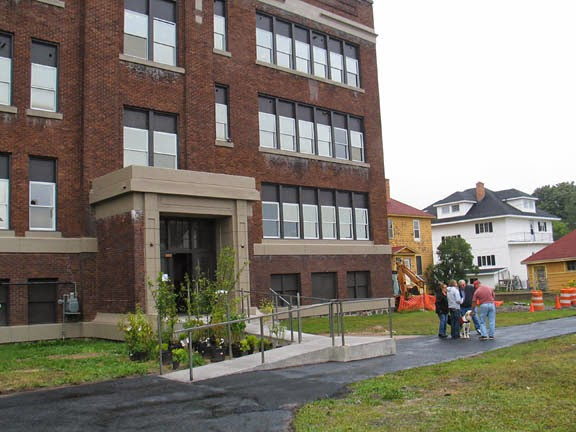 ... An Open House At The Newly Renovated Morrison Building (former Morrison  School) Attracted Potential Renters For The 13 New Apartments Created From  ...