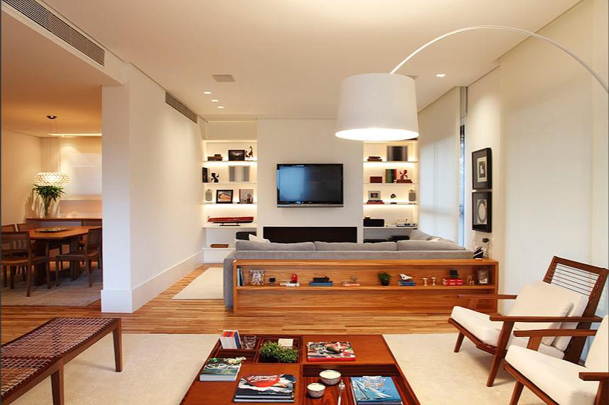 blog de decoração  Arquitrecos Atrás do sofá