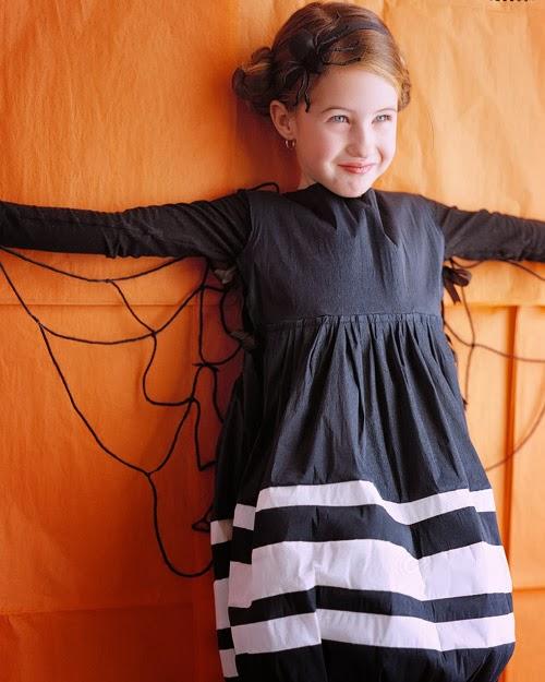 Disfraz niña tela de araña