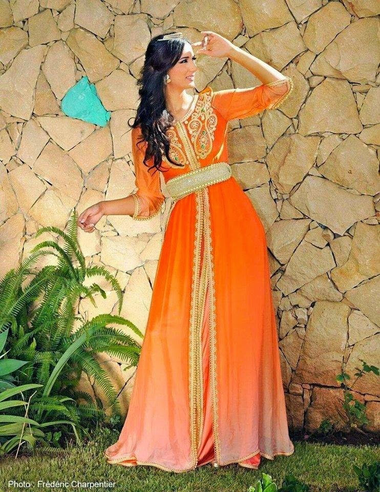 caftan 2015 orange