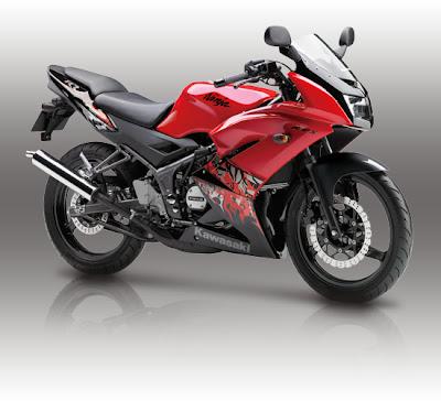 foto Gambar Terbaru Motor Kawasaki 150 RR 2013