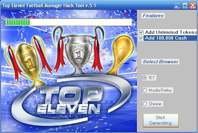 Top Eleven Football Manager Hack 2012[Latest Version and working]
