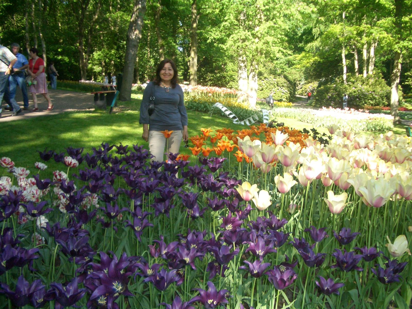 Encuentro conmigo keukenhof el jard n de los tulipanes for Los jardines de la luna