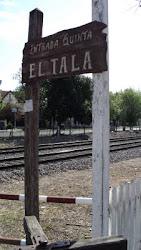"""entrada a la quinta """"El Tala"""""""