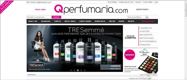 Eu compro muito na Qperfumaria que eu já comentei com vocês. Adoro o site! Lá eu encontro o shampoo Ecologie, maquiagens, esmaltes e muito mais...