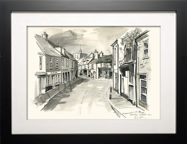 Beccles Suffolk drawing art