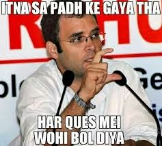 Rahul Gandhi crazy politics photo