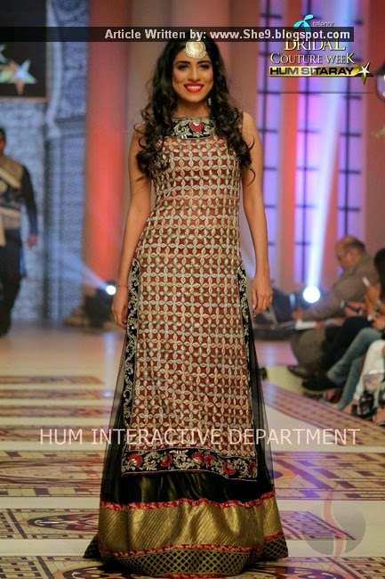 Sahar Atif Bridal Dresses at Bridal Couture Week 2014