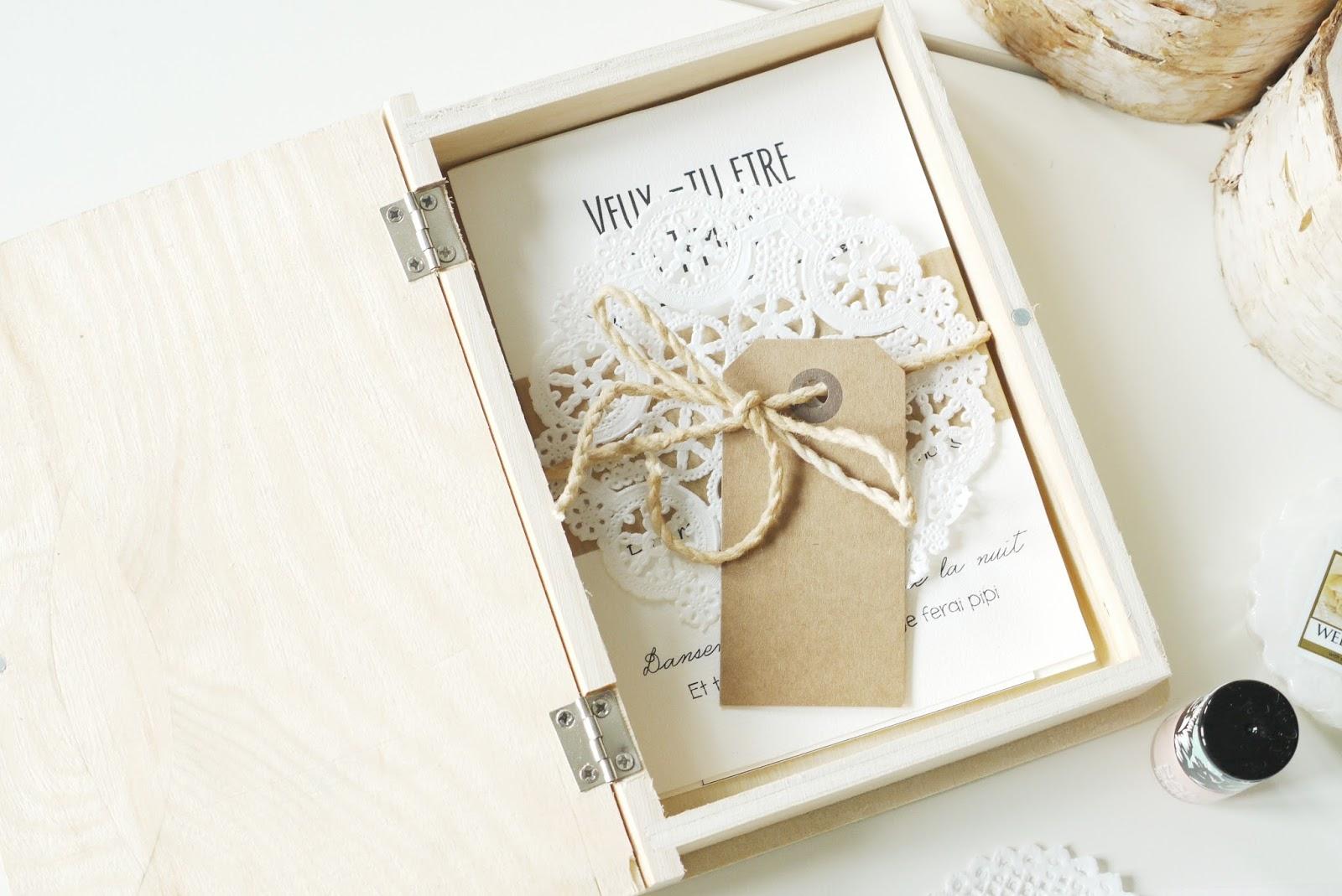 Annonce Témoin Mariage tout beautyfood: cadeaux d'annonce à mes témoins et demoiselles d'honneur