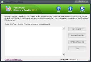Password Recovery Bundle 2012 Enterprise Edition 2.5 Incl Keygen