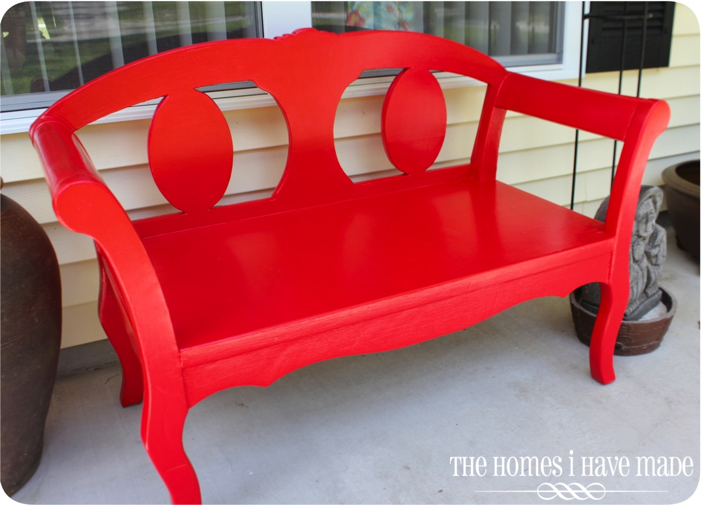 It Was Supposed To Be A Weekend Project The Garden Bench Makeover The Homes I Have Made