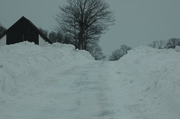 Vintervägen hem till oss