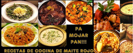 PA MOJAR PAN - PLATOS DE CUCHARA