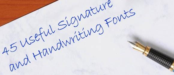 Signature Generator Handwriting