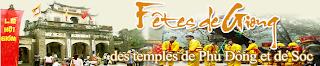 Fêtes de giong des temples de phù đông et de sóc