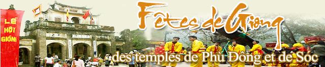 Fêtes de giong des temples de phù đông et de sóc (patrimoine culturel immatériel mondial de l'humanité)