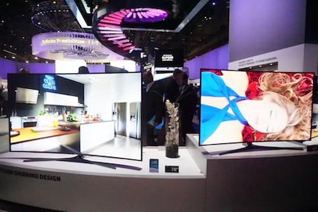 Các mẫu SUHD TV màn hình cong mới nhất vừa được Samsung