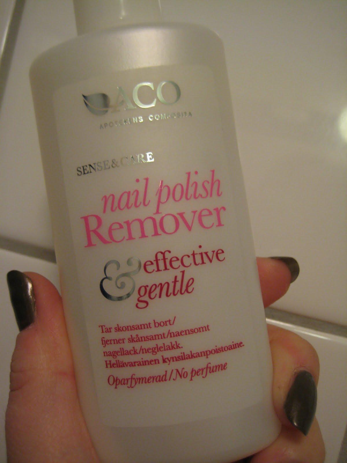 aco nail polish remover
