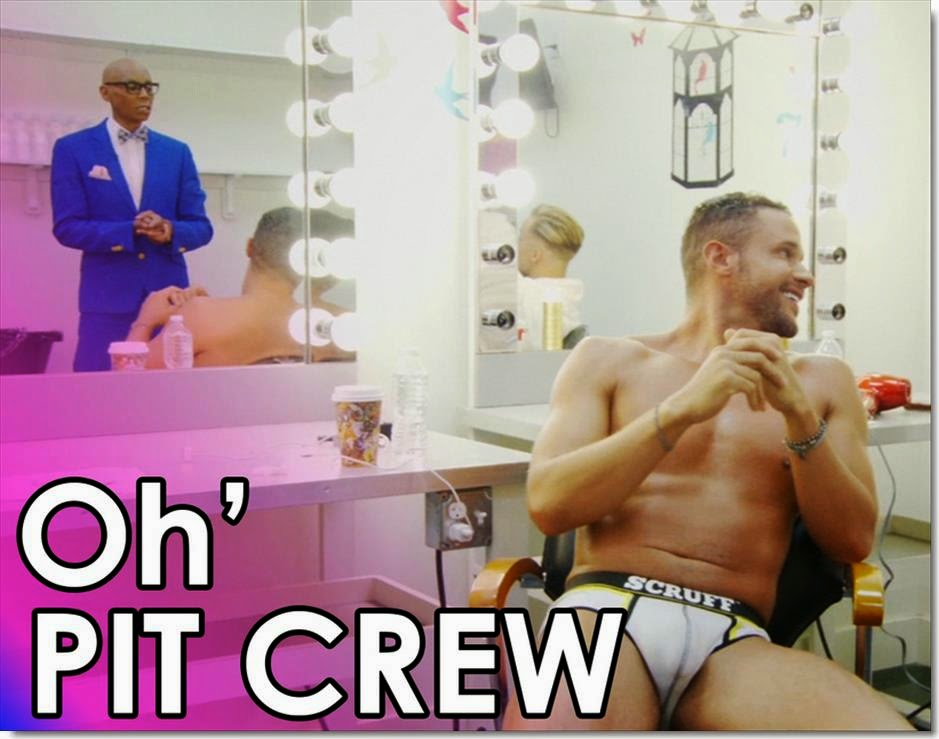 Sexy pit crew opinion