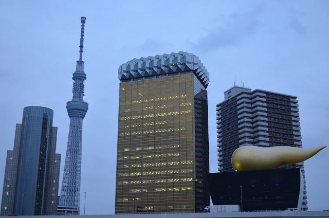 New Tokyo Tower(Tokyo Skytree) and Asahi Beer Hall, Asakusa