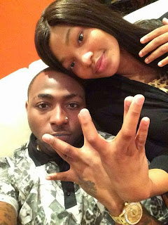 Davido and Habiba Sinare