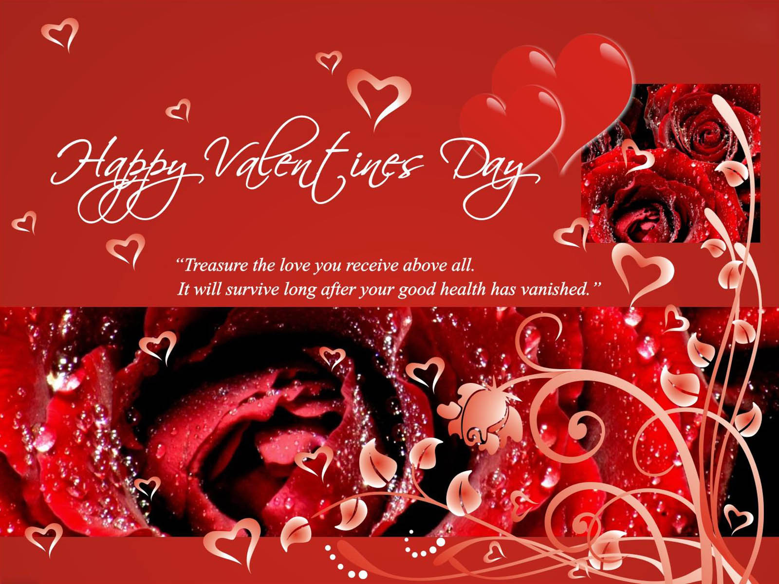 Wallpaper Valentines Day Greetings