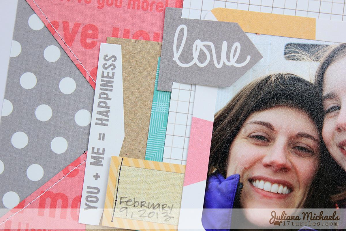 Loving This Scrapbook Page Juliana Michaels Elle's Studio #ellesstudio #nationalscrapbookday #scrapbookpage