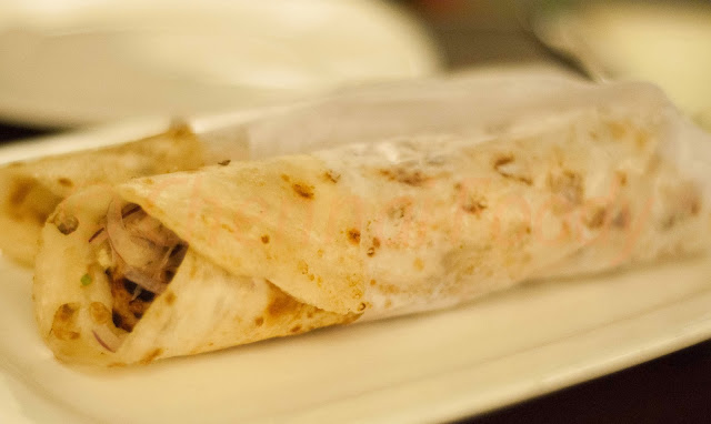 Kati Rolls at Bay Leaf