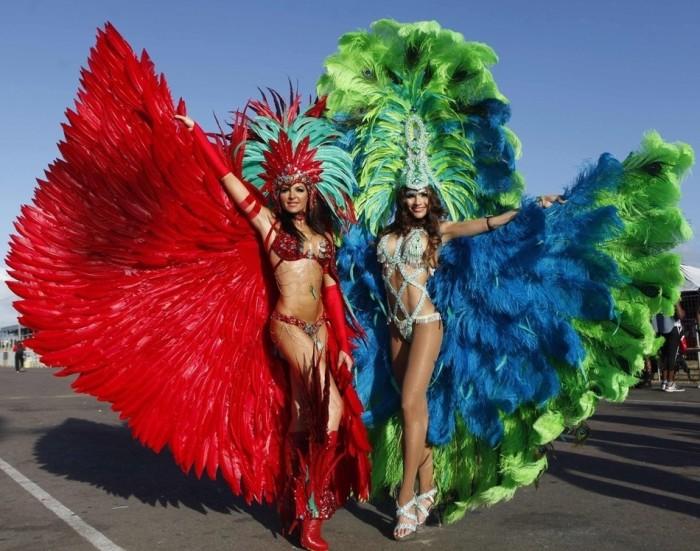Костюм на бразильский карнавал