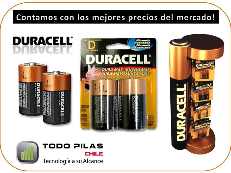Todo pilas pilas duracell oferta for Oferta pilas recargables