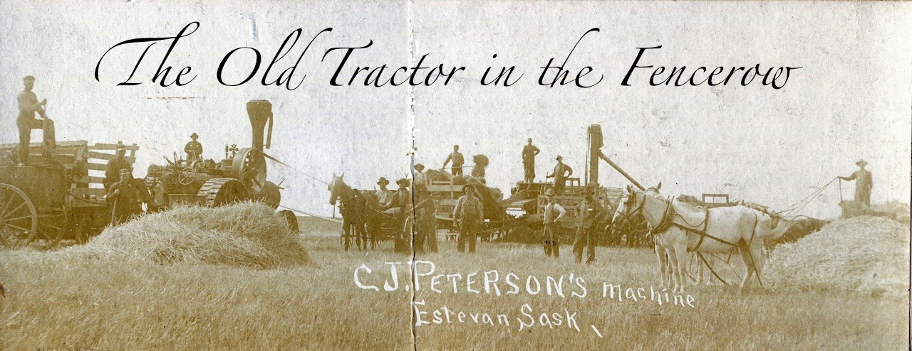 The Old Tractor in the Fencrow