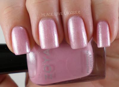 Zoya, Lovely, Gie Gie, Pink, Shimmer
