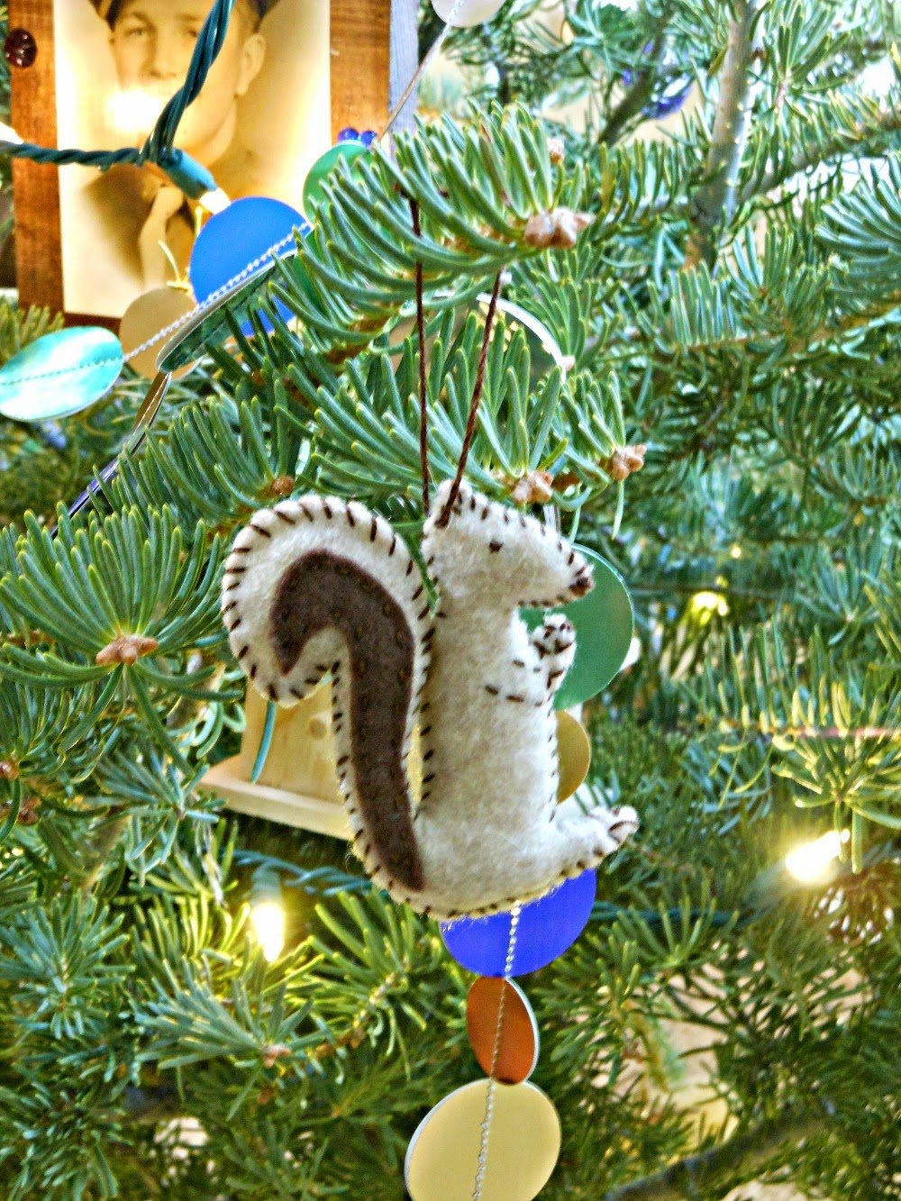felt squirrel