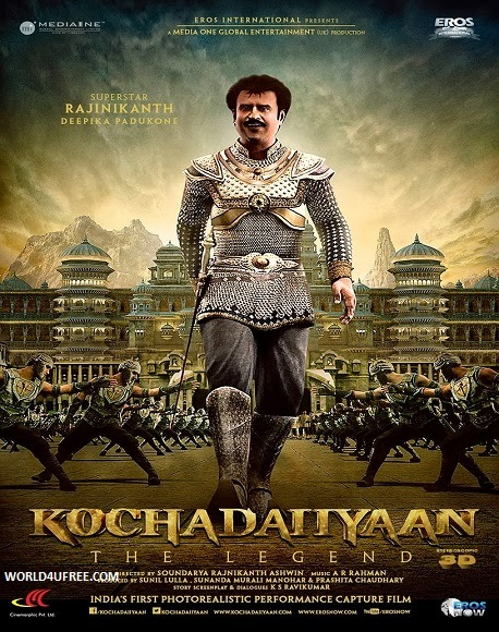 Kochadaiiyaan 2014 Hindi Official Trailer HD 720p
