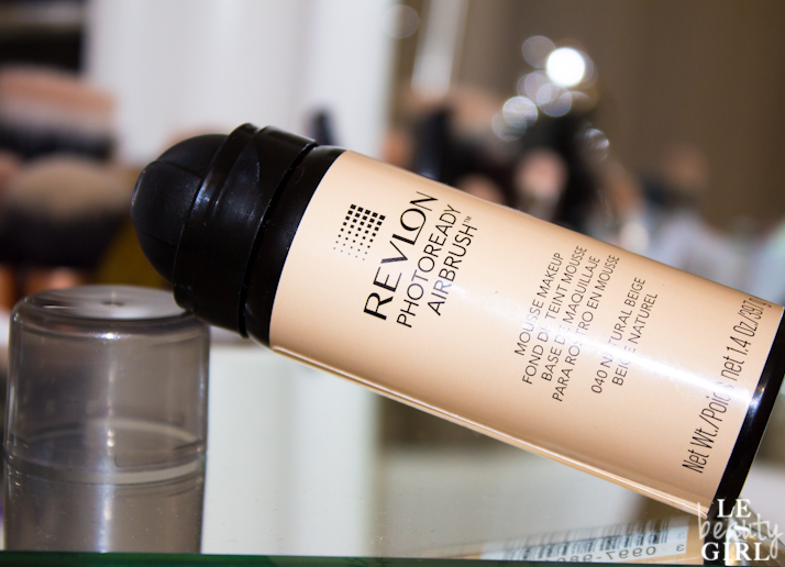 Revlon PhotoReady Airbrush Mousse Makeup (Review and Before & After)