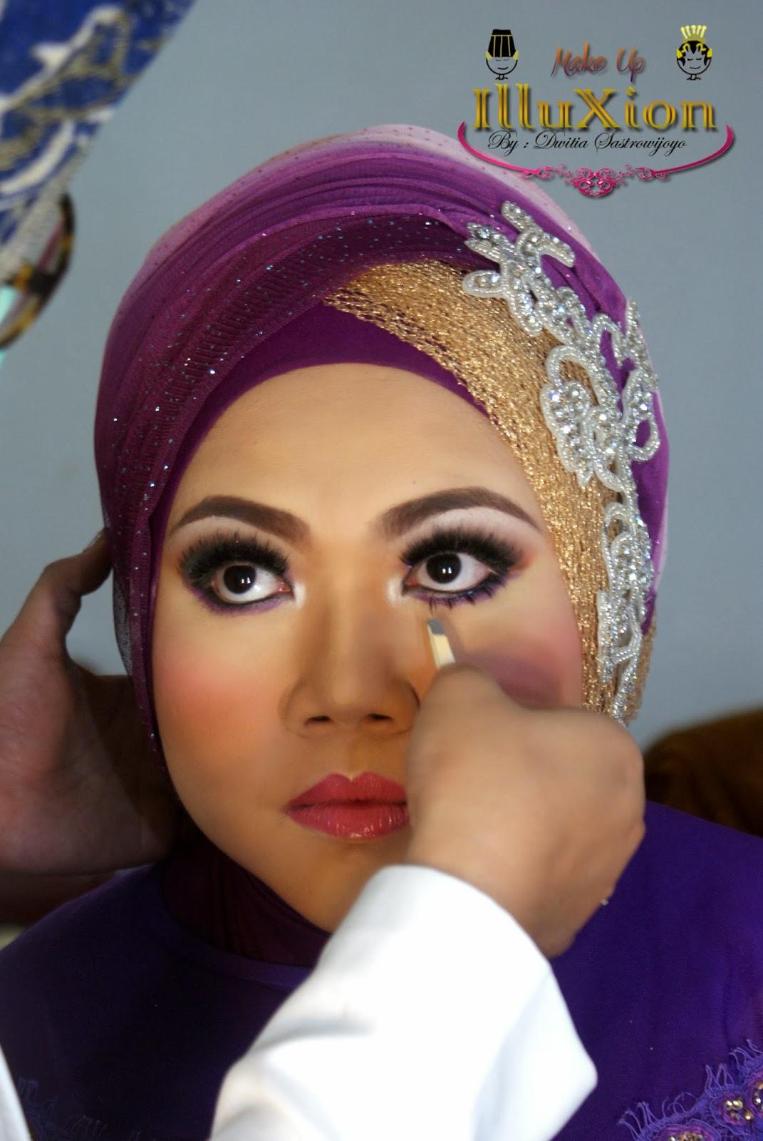 Make Up Pengantin Muslim Nasional Sri &Tonny