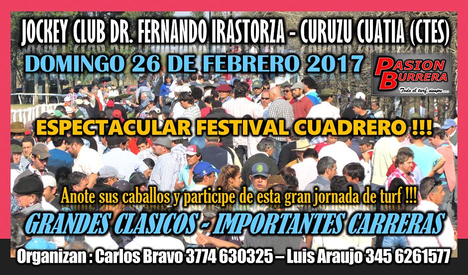 CURUZU CUATIA - 26 DE FEBRERO 2017