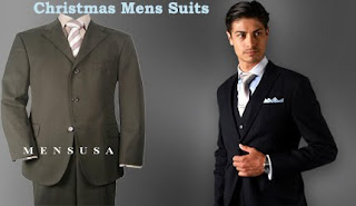 Mensusa Christmas Mens Suits