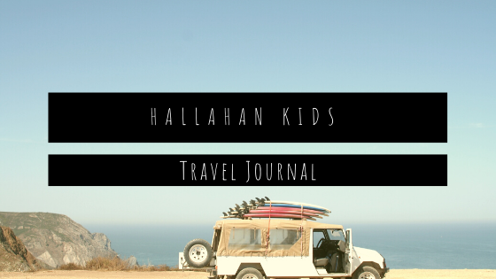 Hallahan Kids' Travel Journal