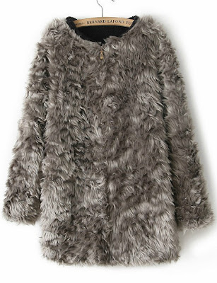 http://www.sheinside.com/Grey-Long-Sleeve-Zipper-Faux-Fur-Coat-p-151477-cat-1735.html
