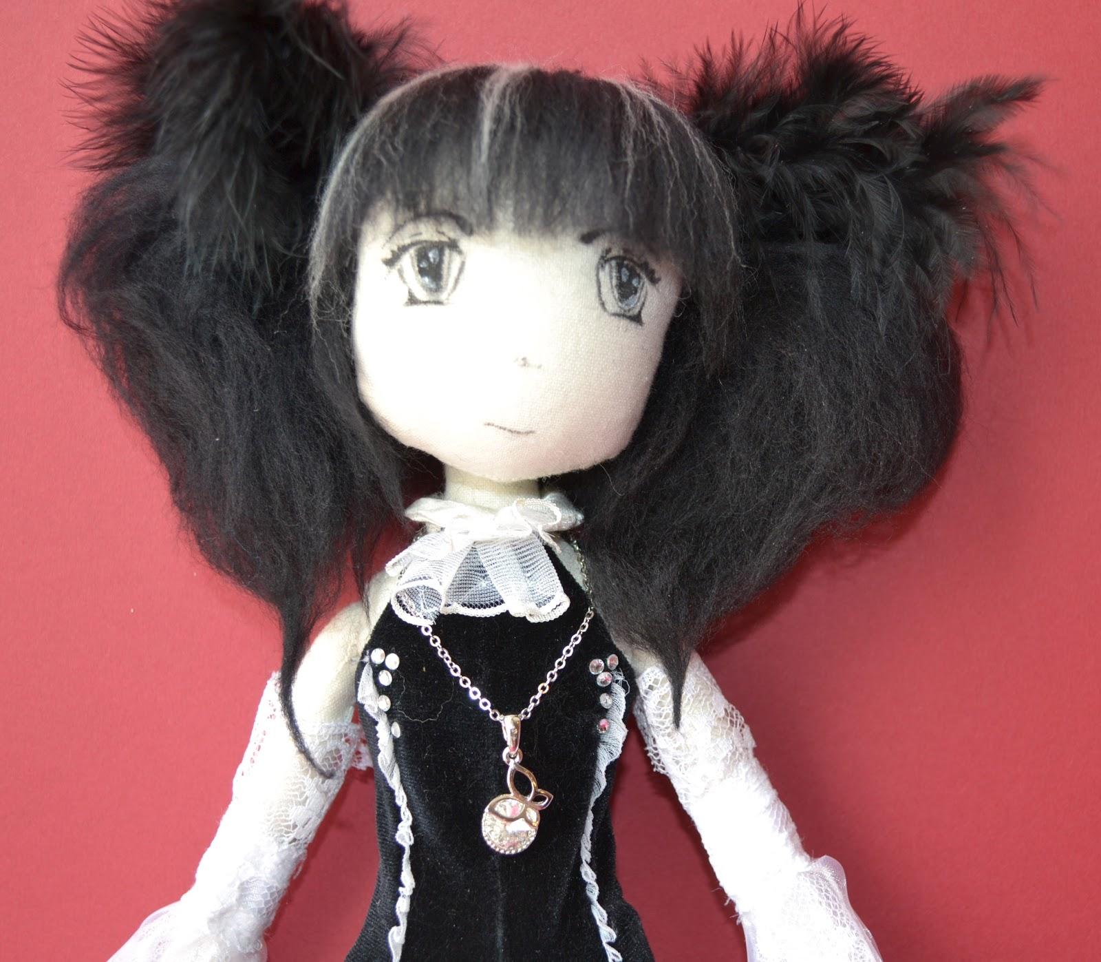 Как сшить аниме куклу 81