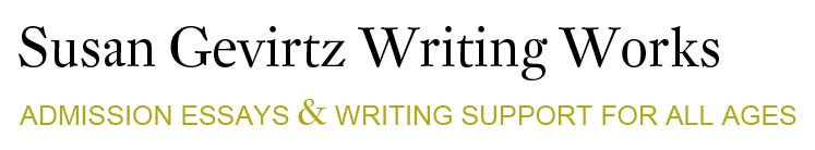 Susan Gevirtz Writing Works