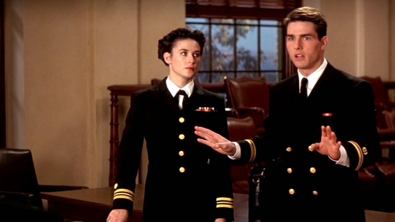an analysis of the character of danny kaffe played by tom cruise in a few good men Some of cruise's later films like a few good men and the last samurai can also be considered to be part of this formula widescreenings noted that for tom cruise's character daniel kaffee in a few good men.