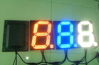 led digital sign, led price display board