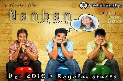 Nanban - 3 idiots in Tamil still